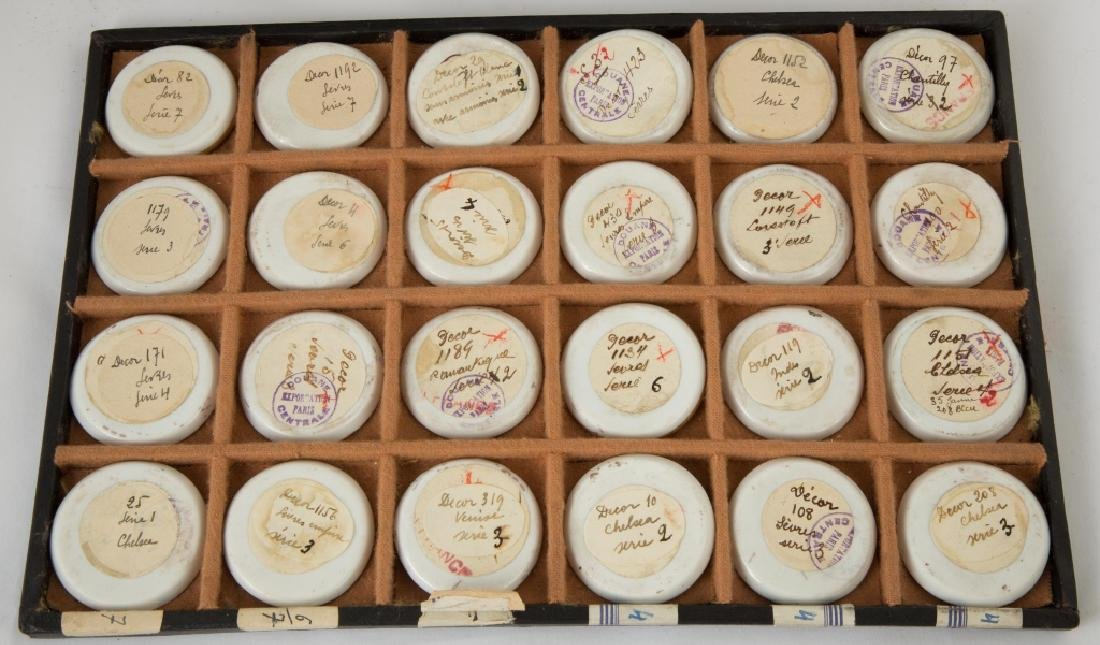 Rare Salesman Sample Sevres Dinner Plates - 2