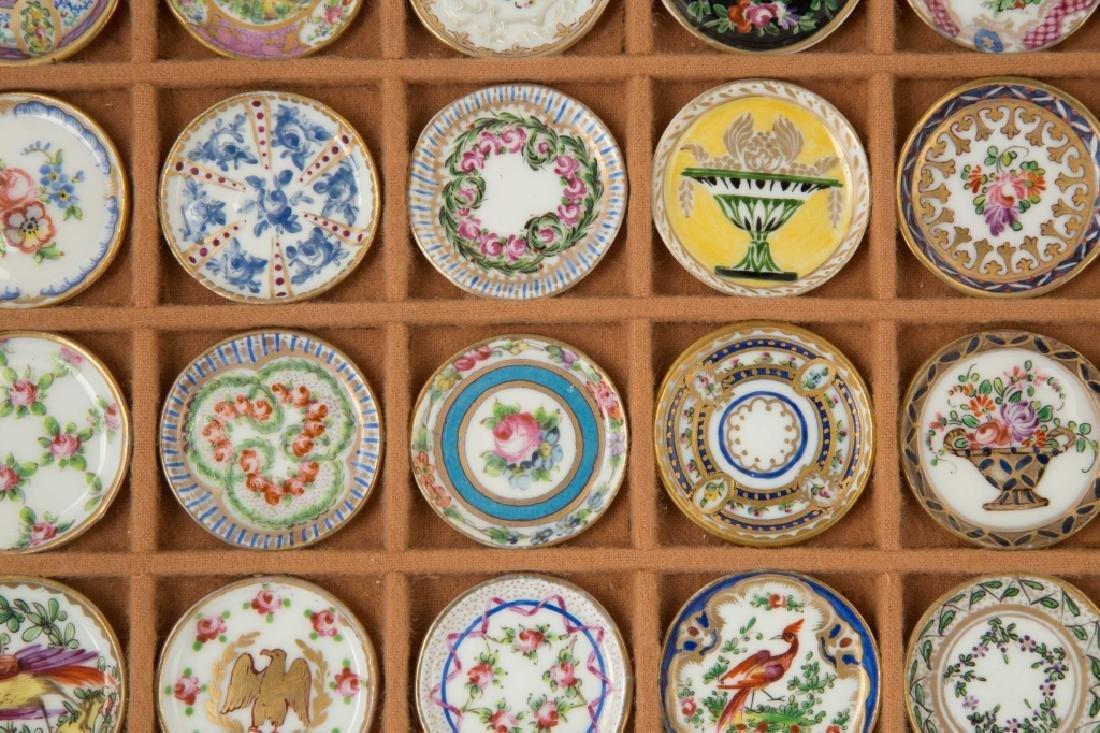 Rare Salesman Sample Sevres Dinner Plates - 3