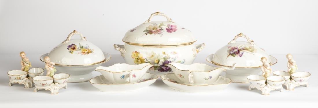 Extensive Set of KPM Porcelain Dinnerware and Tableware