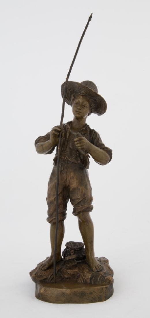 Georges Omerth (French, fl. 1895-1925) Bronze Sculpture
