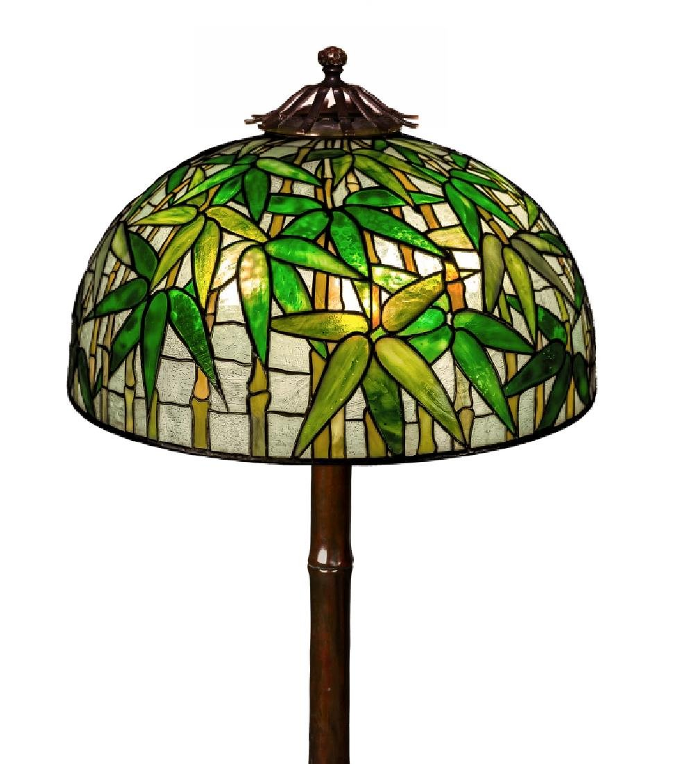 Tiffany Studios New York Bamboo Floor Lamp