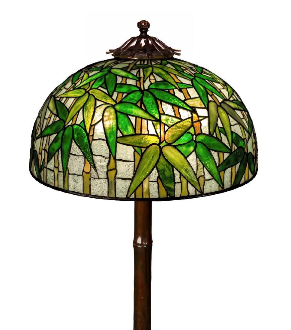 Tiffany Studios New York Bamboo Floor Lamp