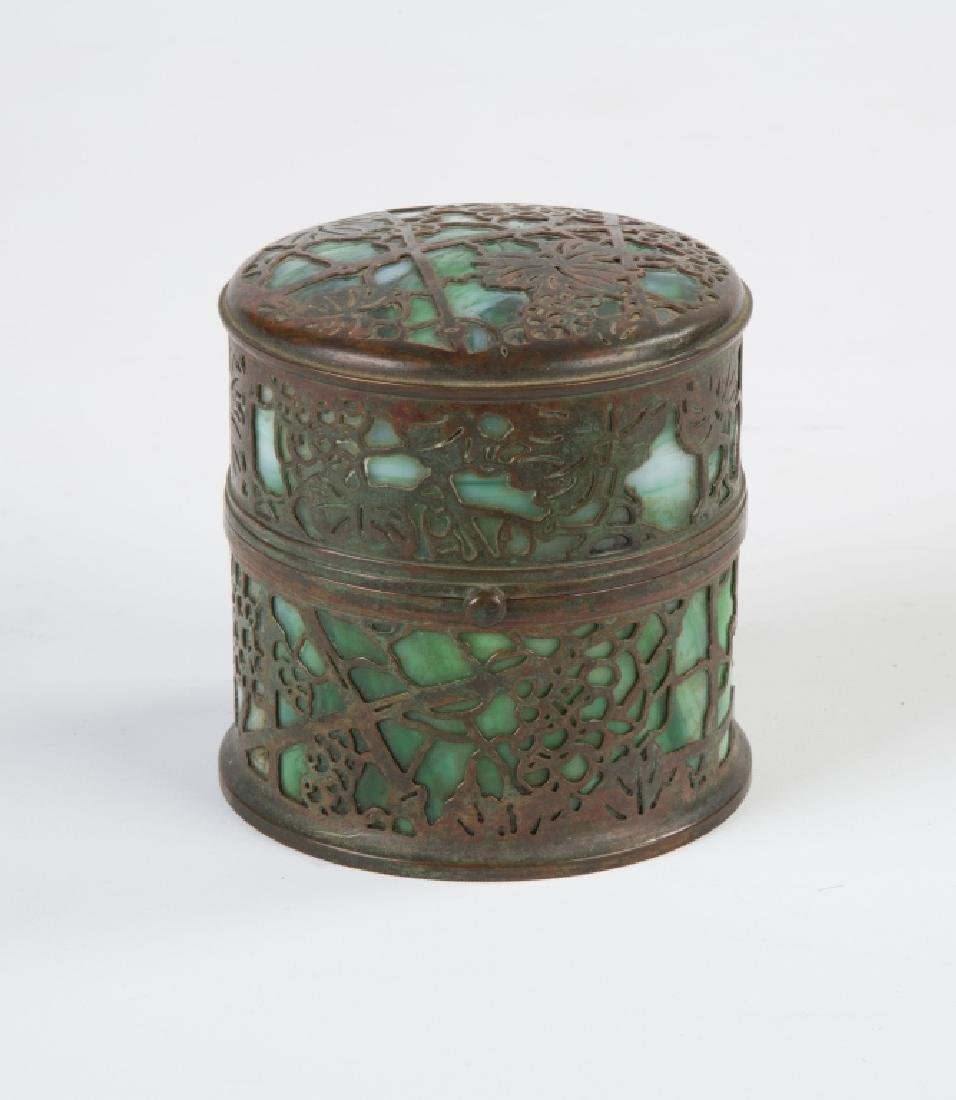 "Tiffany Studios Grapevine ""Paste Pot"""