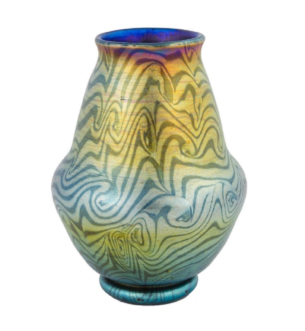 Tiffany Favrile Decorated Vase