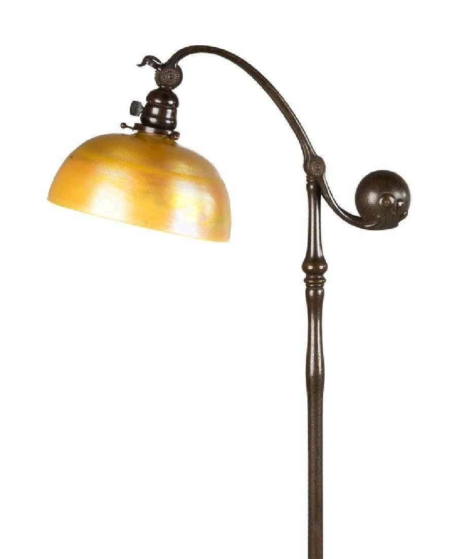 Tiffany Studios NY, Counter Balance Adjustable  Bronze