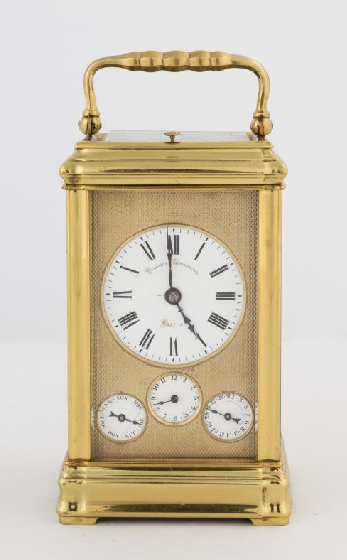 Attr. Henri Jacot French Carriage Clock