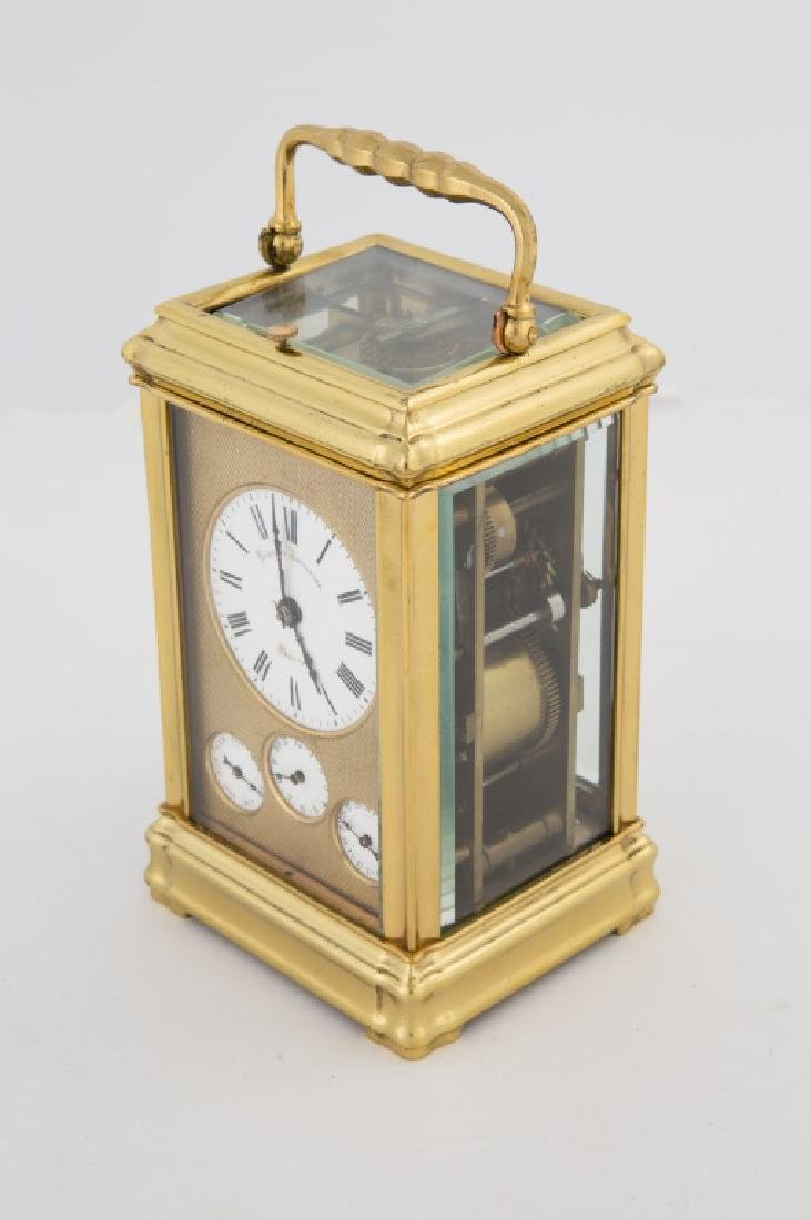 Attr. Henri Jacot French Carriage Clock - 2
