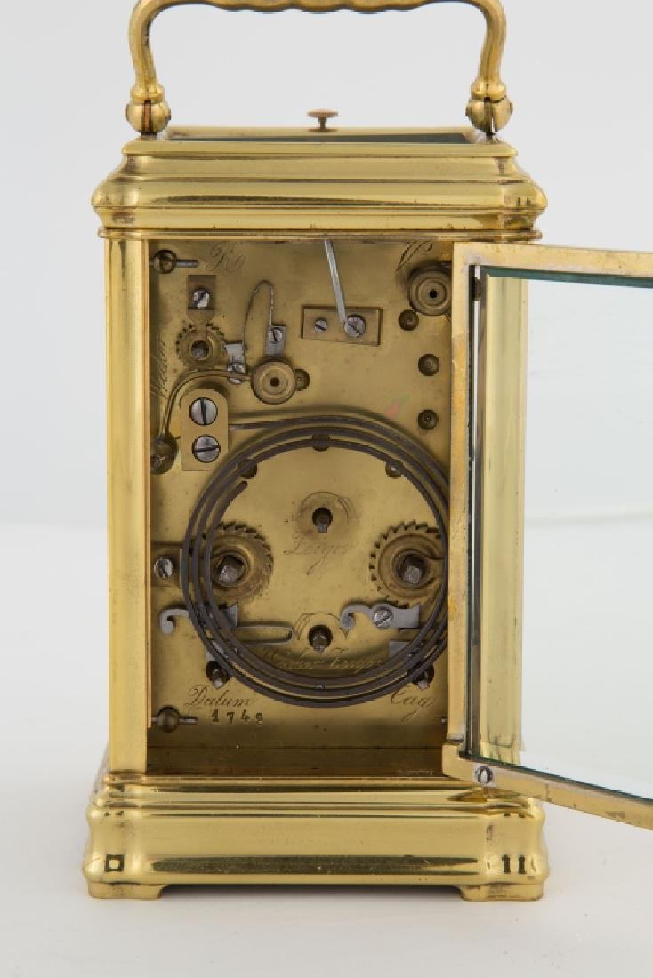 Attr. Henri Jacot French Carriage Clock - 3