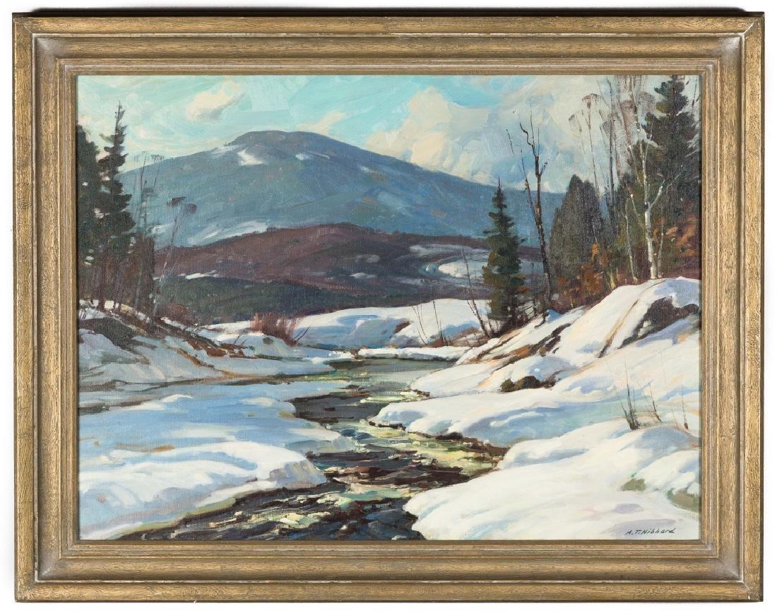 "Aldro Thompson Hibbard (American, 1886-1972) ""Snowy"