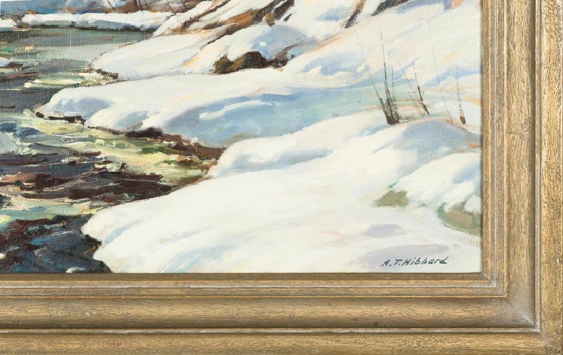 "Aldro Thompson Hibbard (American, 1886-1972) ""Snowy - 2"