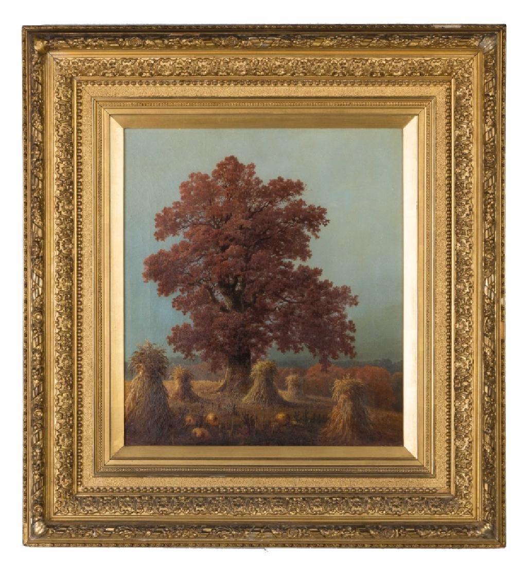 Edward Moran (American, 1829-1901) Harvest Scene