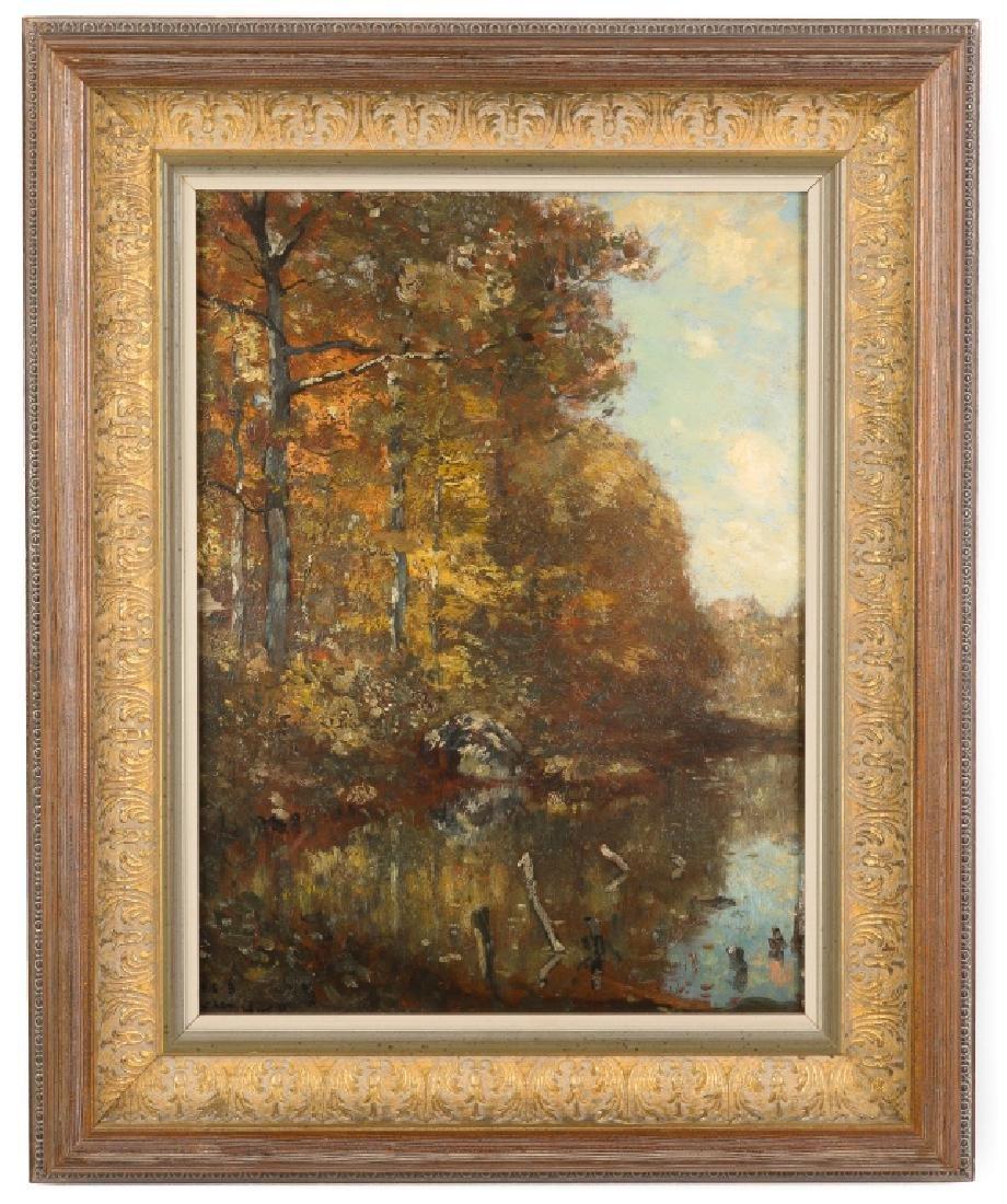 Henry Ward Ranger (American, 1858-1961) Landscape