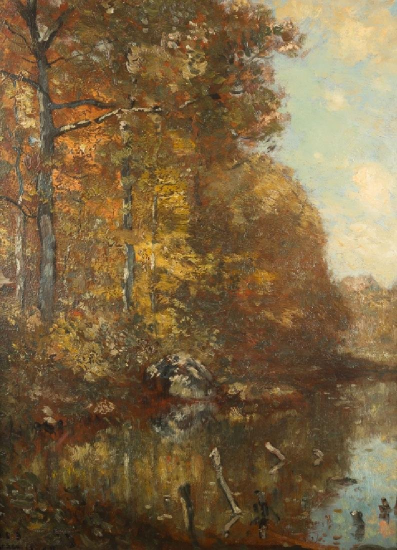 Henry Ward Ranger (American, 1858-1961) Landscape - 2