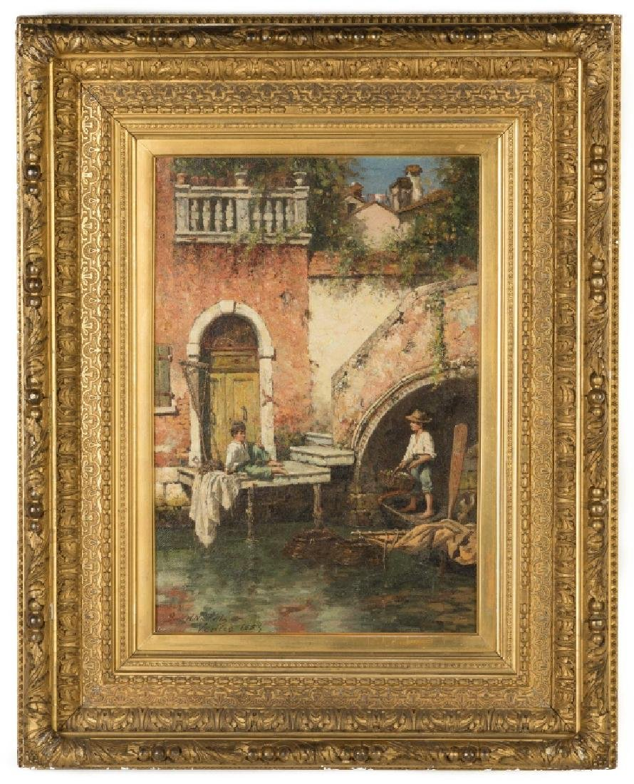 "Burr H. Nicholls (American, 1848-1915) ""Venetian"