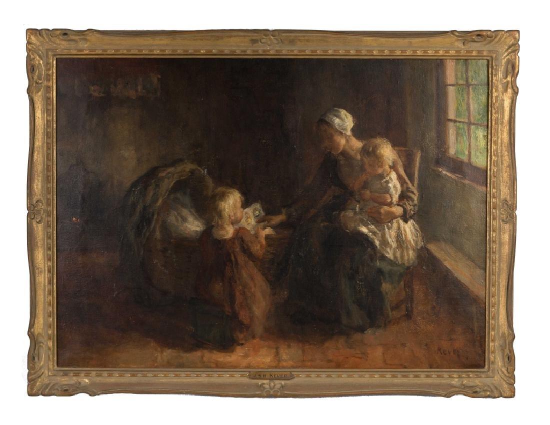 Jacob Simon Hendrik Kever (Dutch, 1854-1922) Mother and