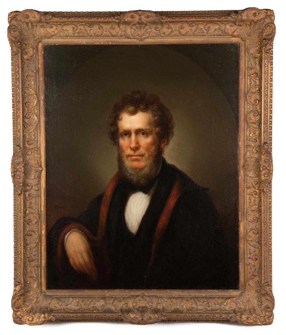 """Rembrandt Peale (American, 1778-1860) """"Portrait of  a"""