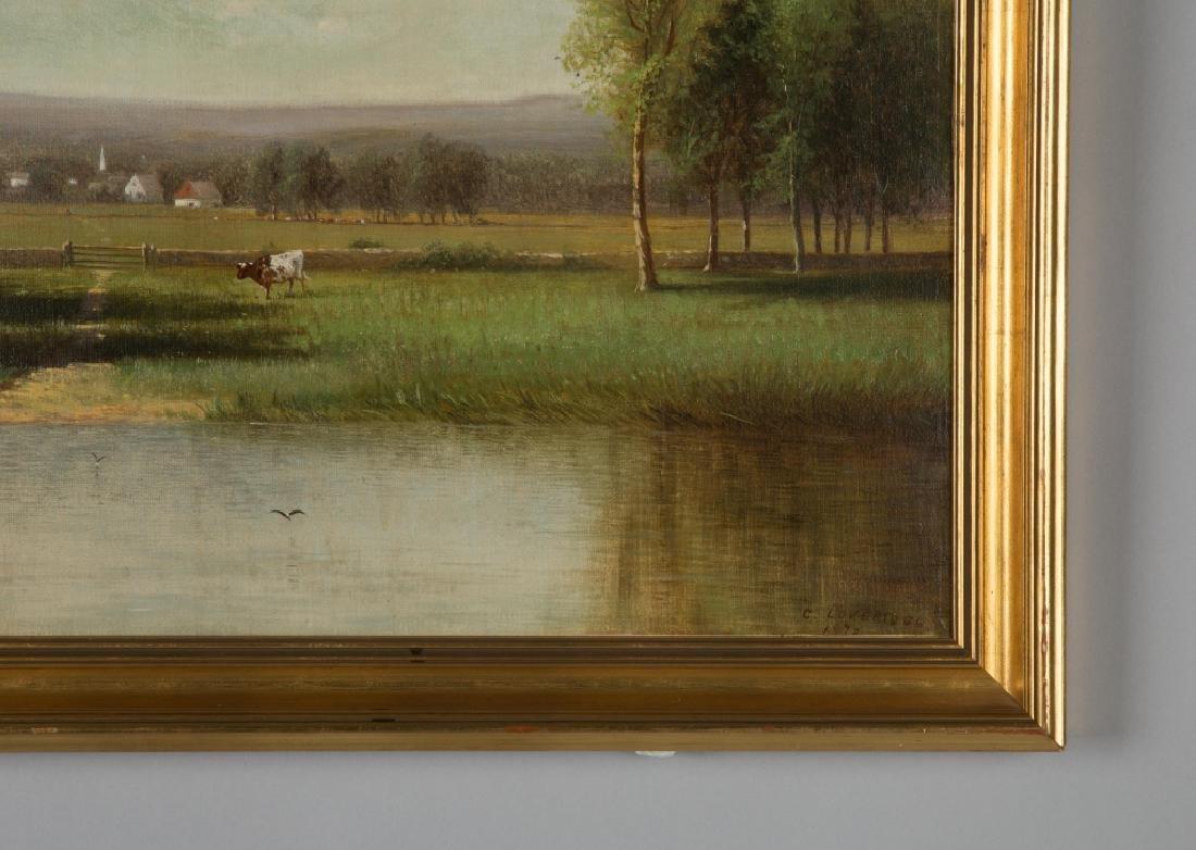 Clinton Loveridge (1824-1915) Cows in Landscape - 2