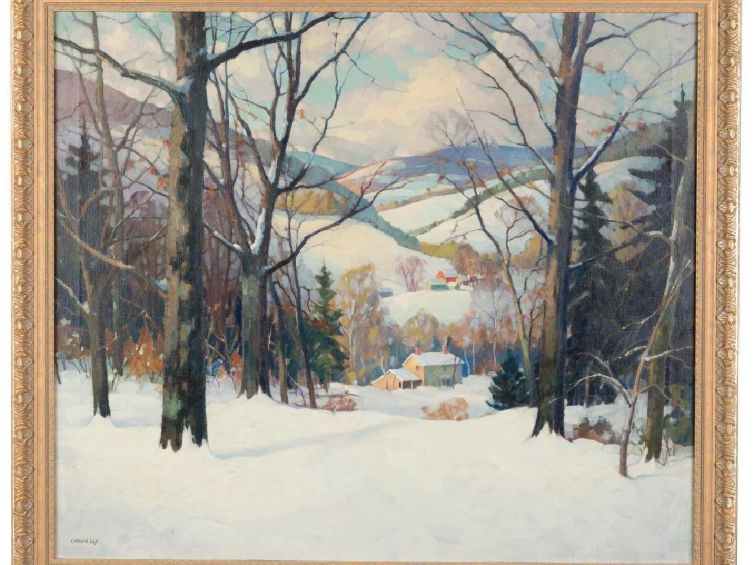 Clifford Ulp (American, 1885-1957) Winter Landscape - 2