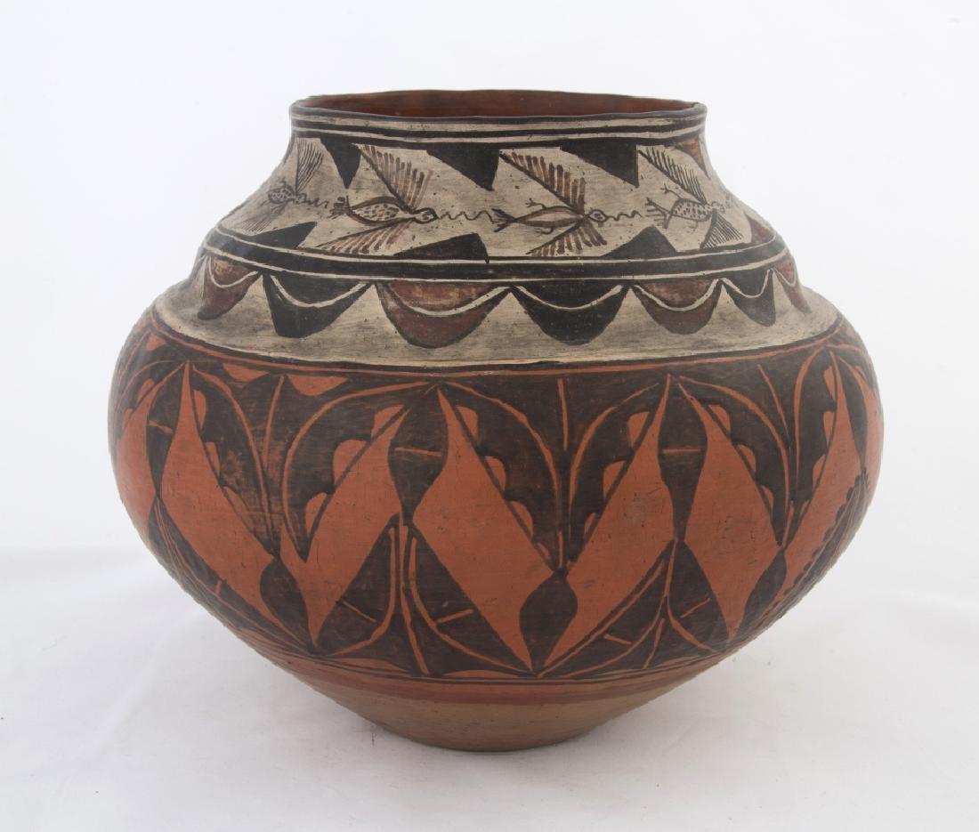 Native American Zia Pot