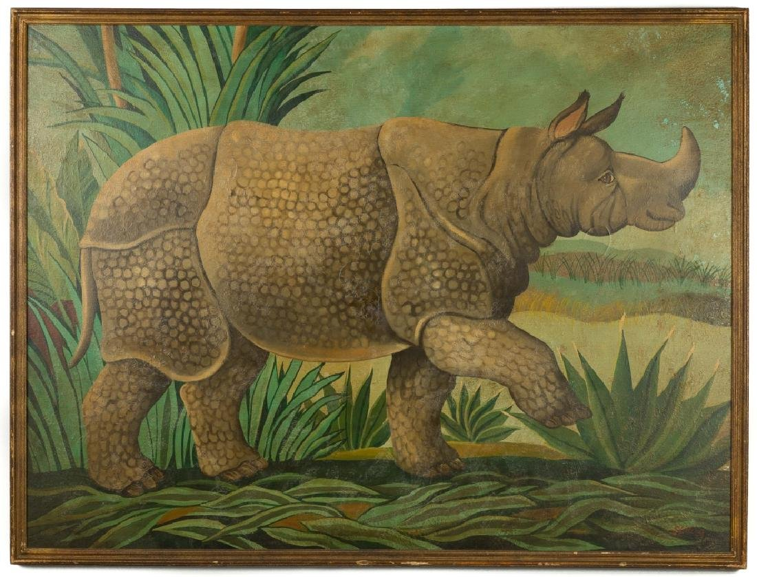 William E. Skilling (American 1892-1964)  Rhinoceros