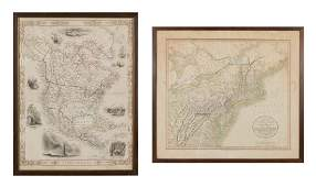 US Map and Book Plate Map