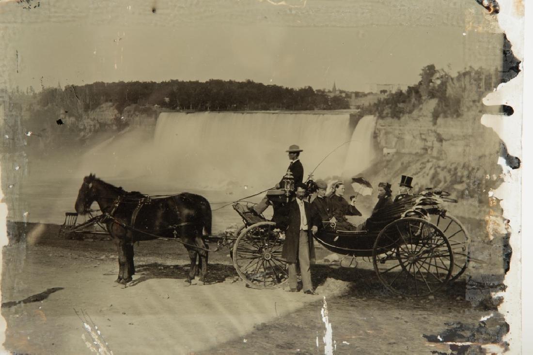Ambrotype of Niagara Falls - 2