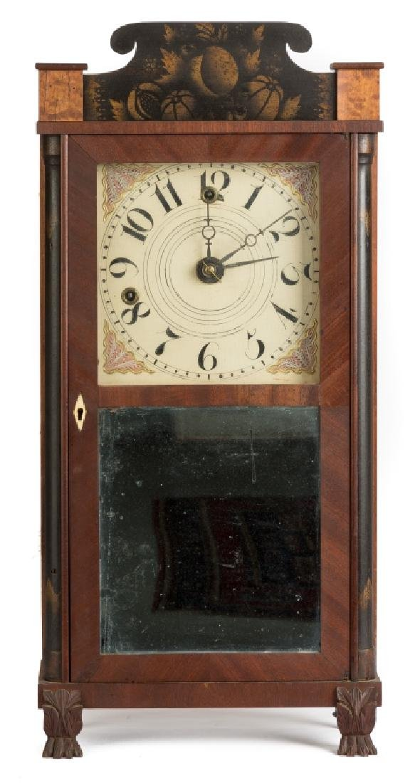 Silas Hoadley Miniature Shelf Clock
