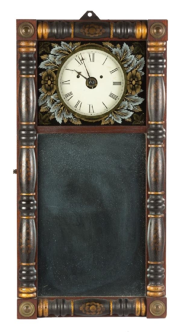Rare New Hampshire Mirror Wall Clock
