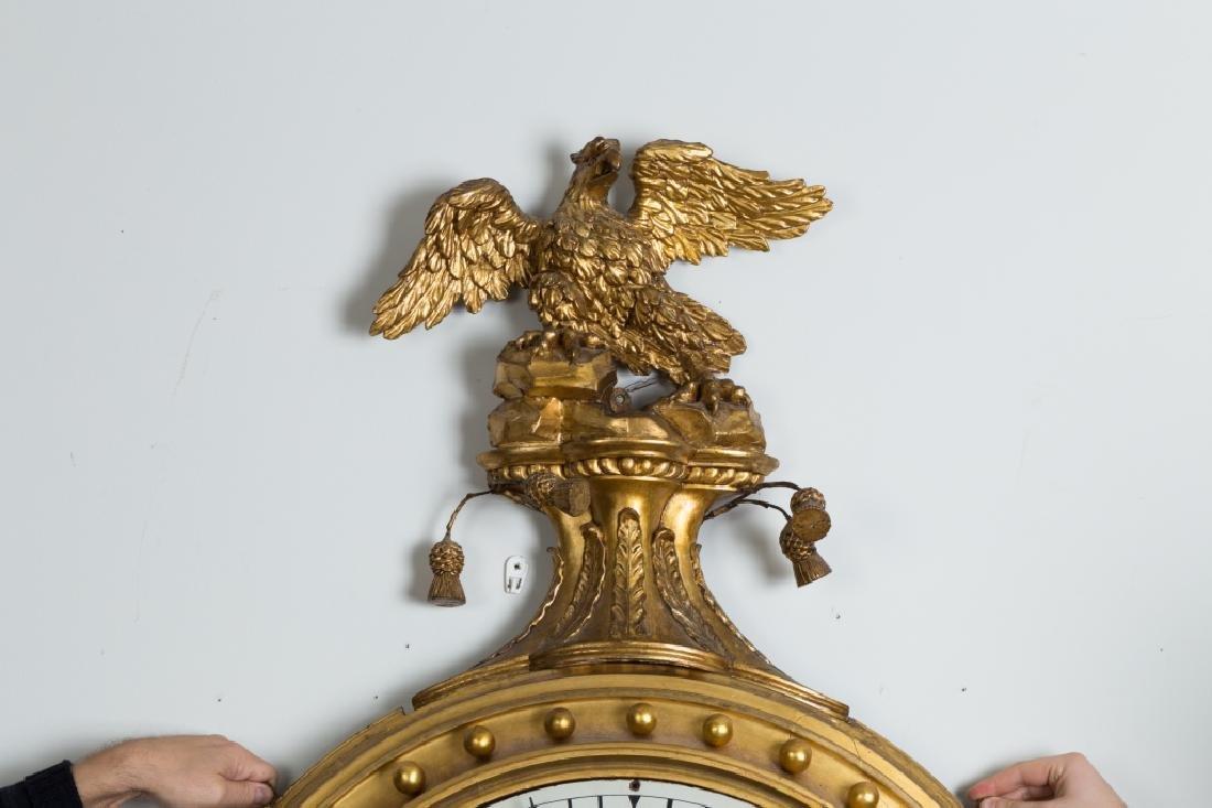 Rare Simon Willard Gallery Clock - 3