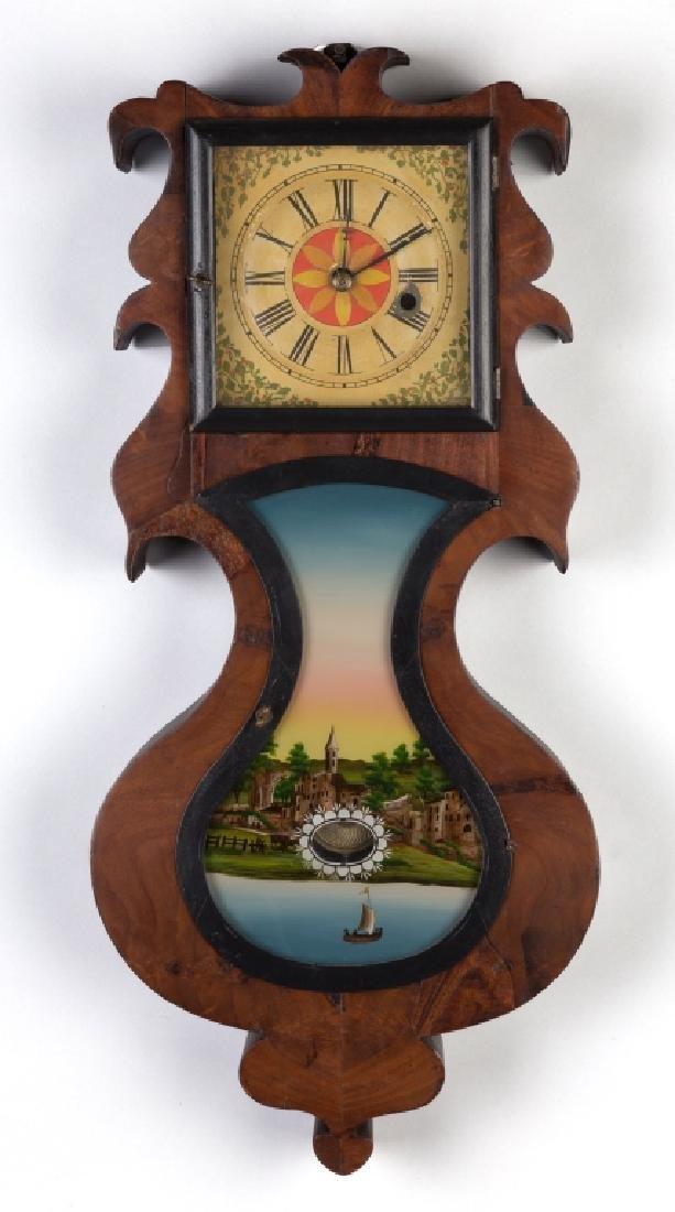 J. C. Brown, Forestville, CT, Acorn Wall Clock
