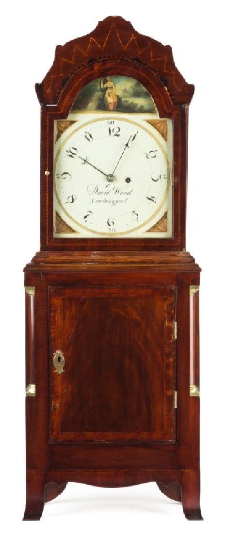 David Wood, Newburyport, MA, Shelf Clock