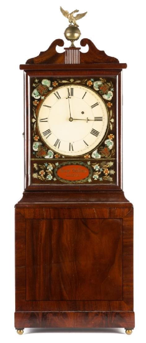 Aaron Willard, Boston, Shelf Clock