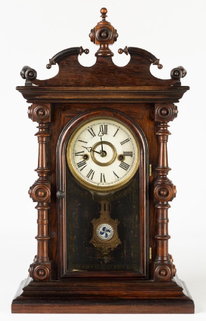 E. N. Welch Cary Shelf Clock