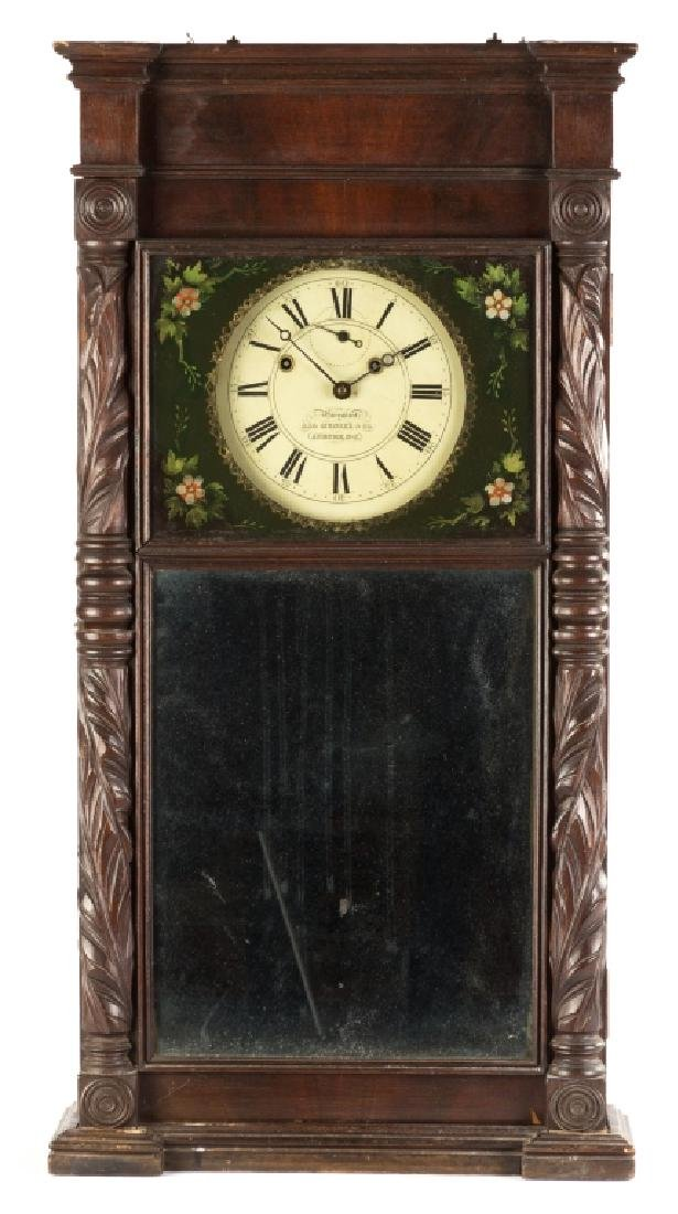 Asa Munger Shelf Clock