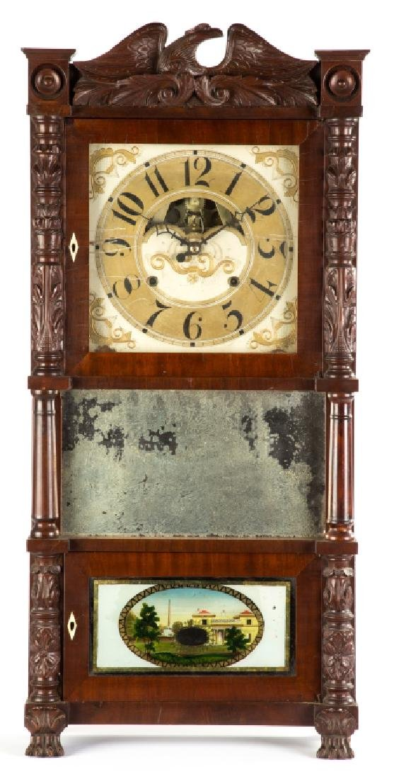 John Birge Triple Decker Shelf Clock