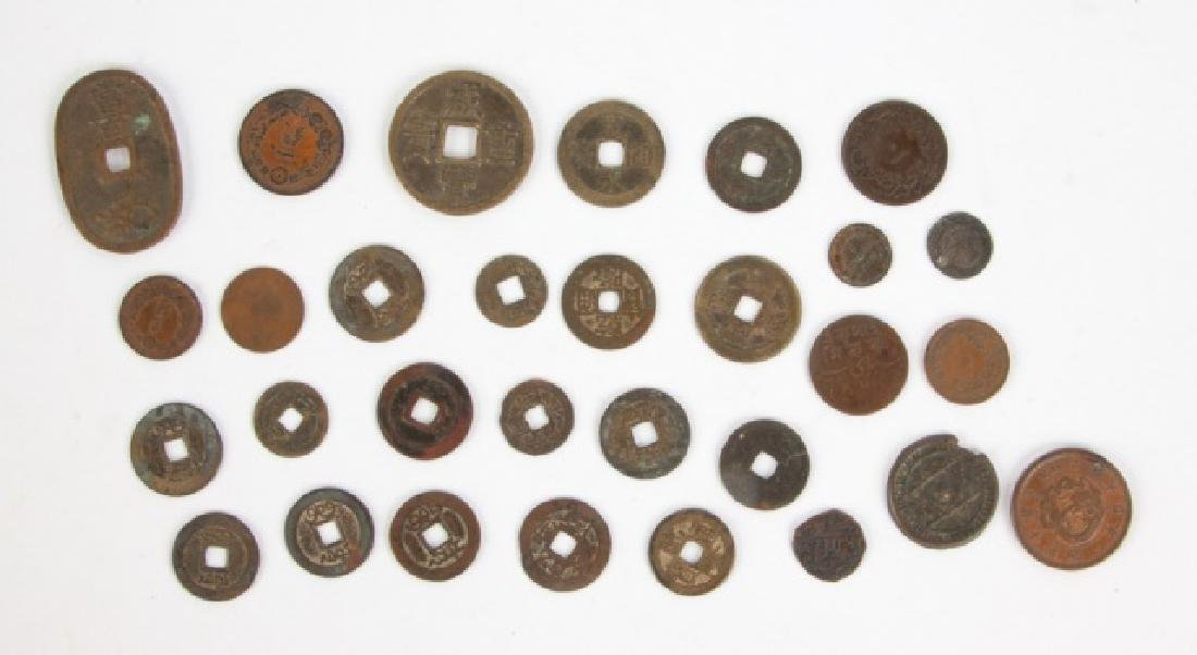 Group of Asian and Middle Eastern Coins
