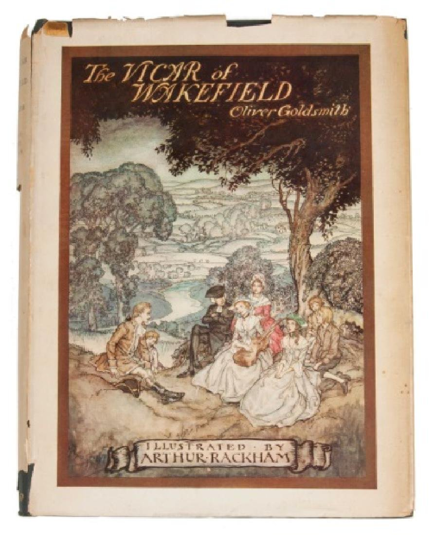 "First Edition ""The Vicar of Wakefield"" by Oliver"