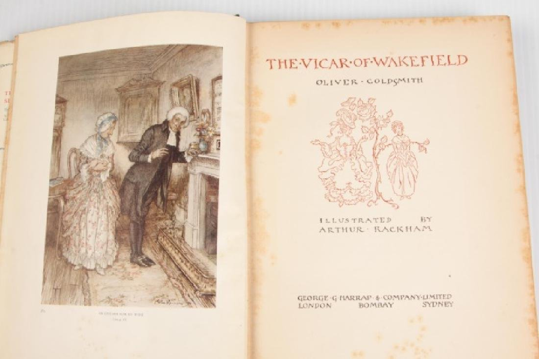 "First Edition ""The Vicar of Wakefield"" by Oliver - 3"