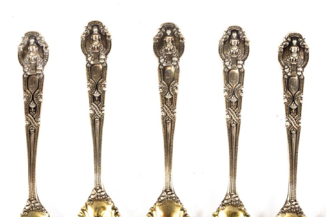 Twelve Tiffany & Co. Sterling Spoons
