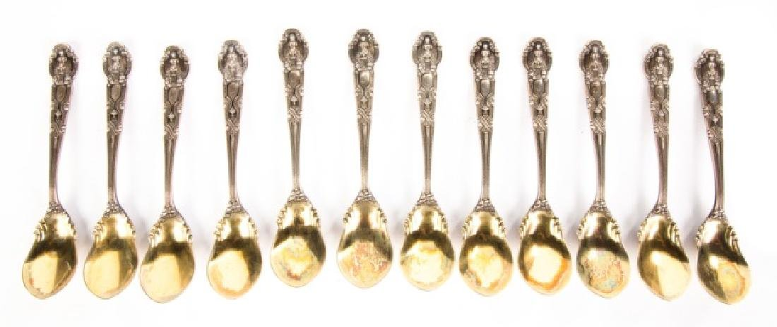 Twelve Tiffany & Co. Sterling Spoons - 2