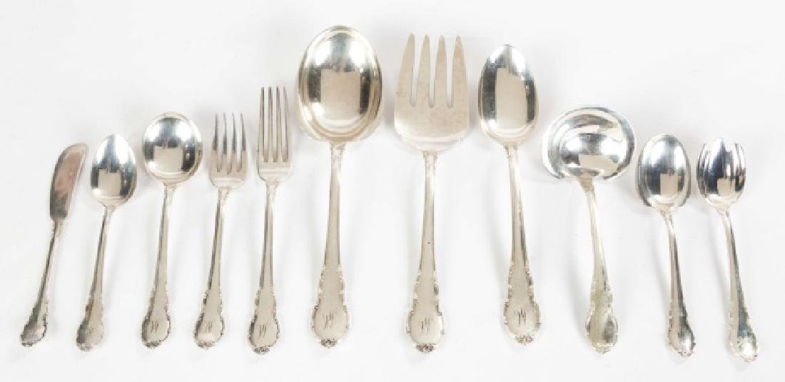 Lunt Sterling Flatware with other Miscellaneous Silver