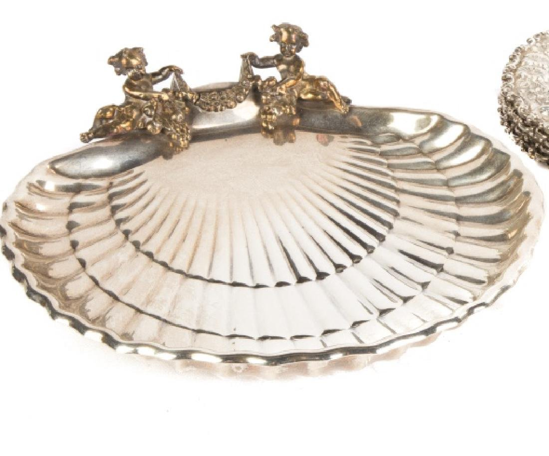 Gorham Sterling Shell Shaped Dish