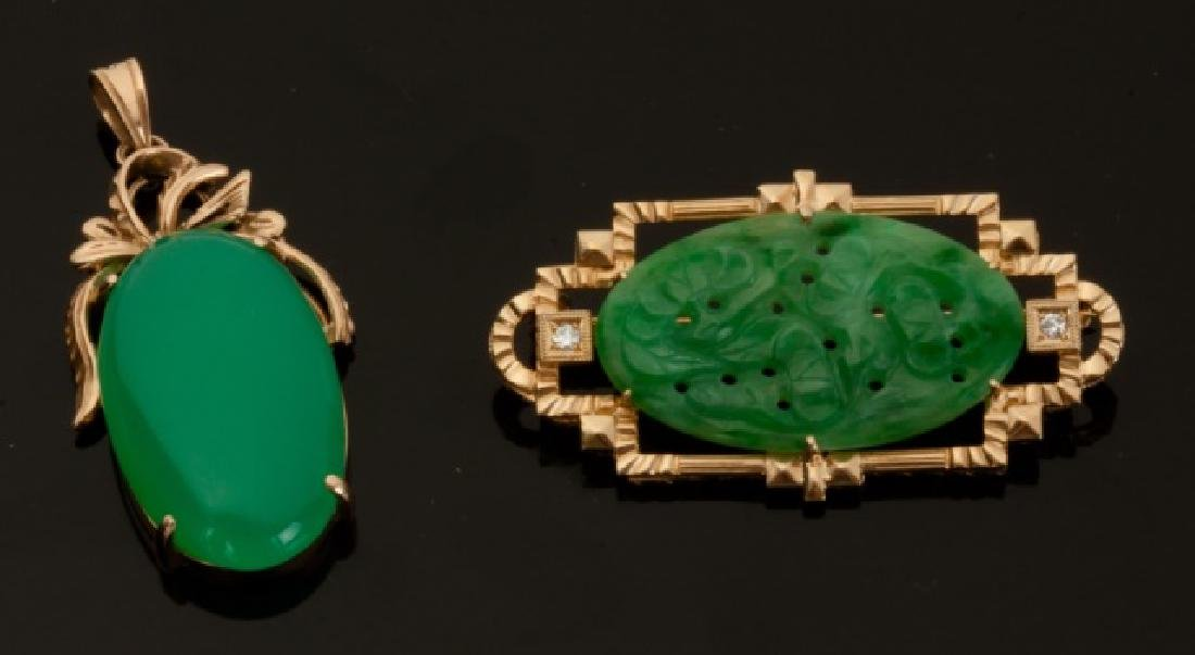 Jade and Jadeite Pendants