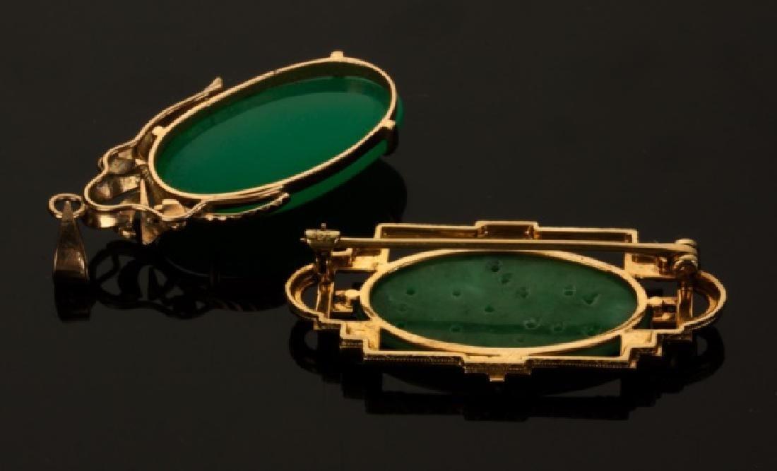 Jade and Jadeite Pendants - 2