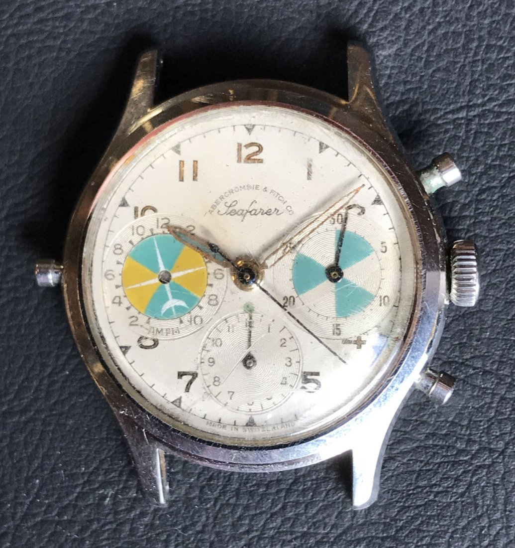 """Vintage Heuer For Abercrombie & Fitch """"Seafarer"""""""