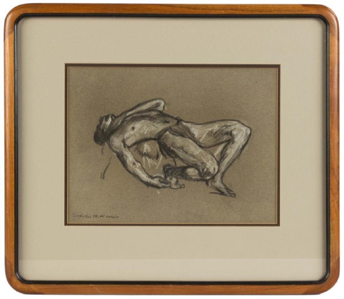 Arthur B. Davies, Charcoal and Crayon