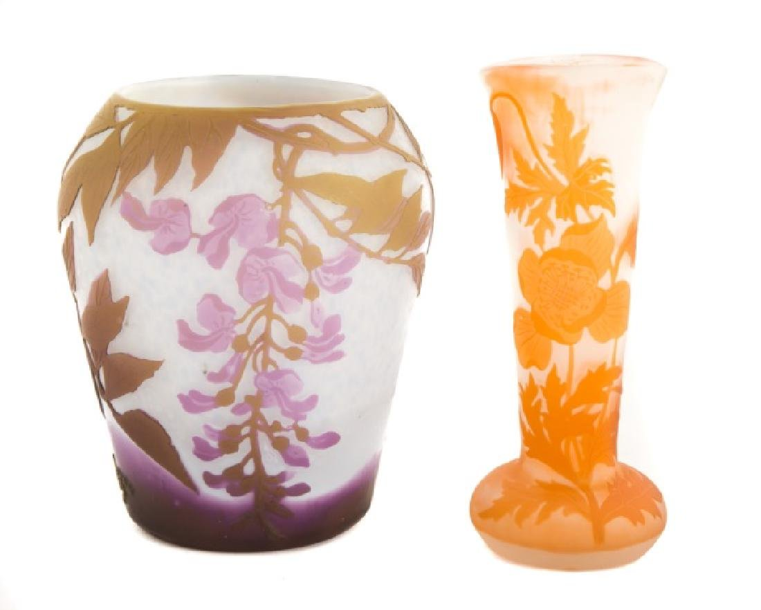 Legrass Floral Cameo Vase