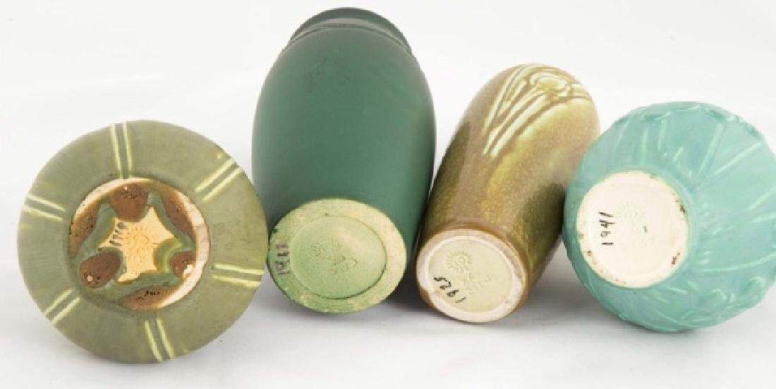 Four Rookwood Art Pottery Vases - 2
