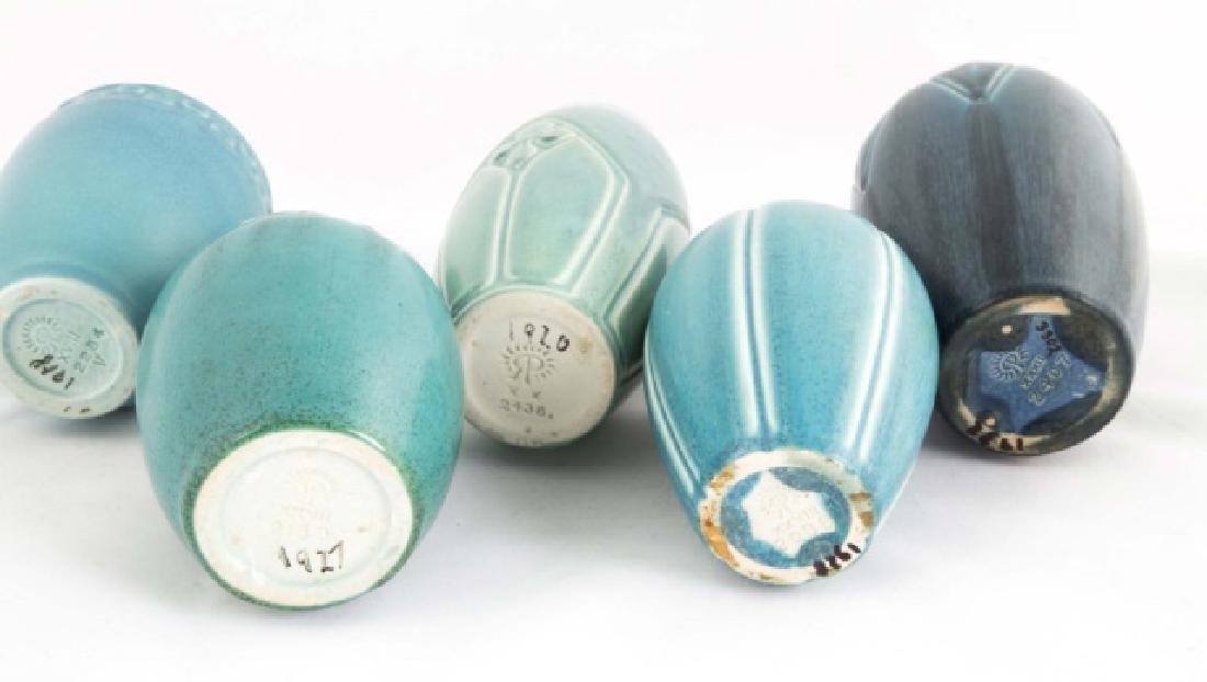 Five Rookwood Art Pottery Vases - 2