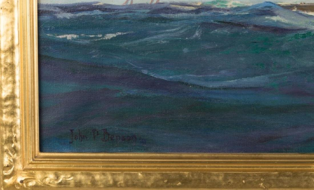 John P. Benson (American, 1865-1947) Sailboat - 2
